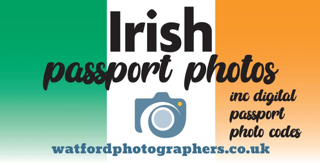 Watford Photographers – Irish passport photos & digital code in Watford
