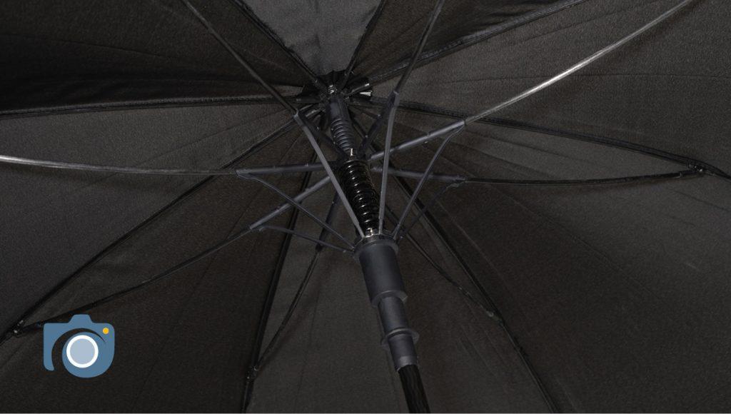 Branded umbrellas photoshoot