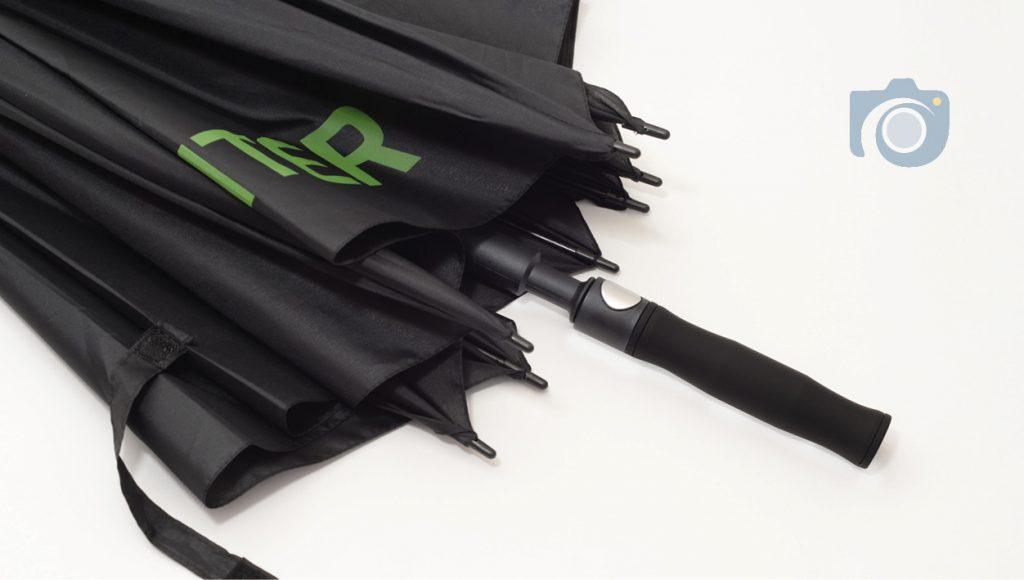 Branded umbrellas product photos