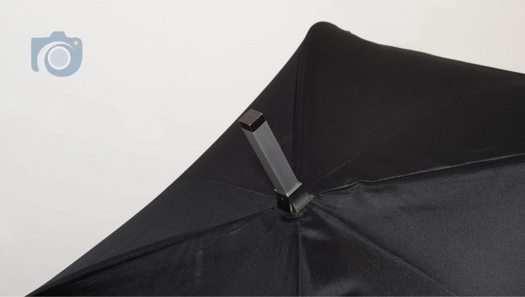 Branded umbrella product photos