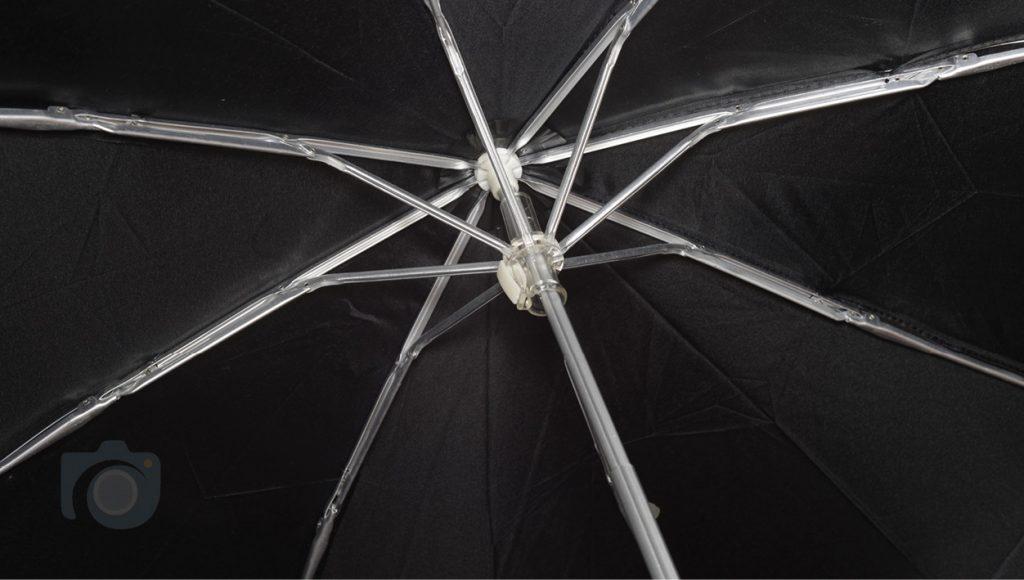 Watford Photographers branded close-up of umbrella mechanism