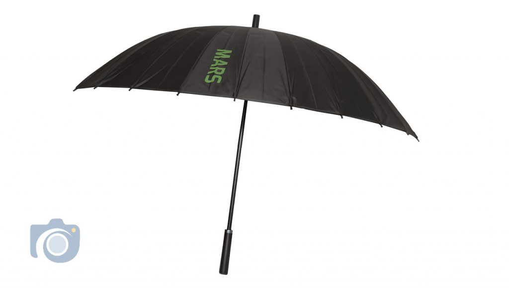 Product photos of a series of branded umbrellas by Watford Photographers